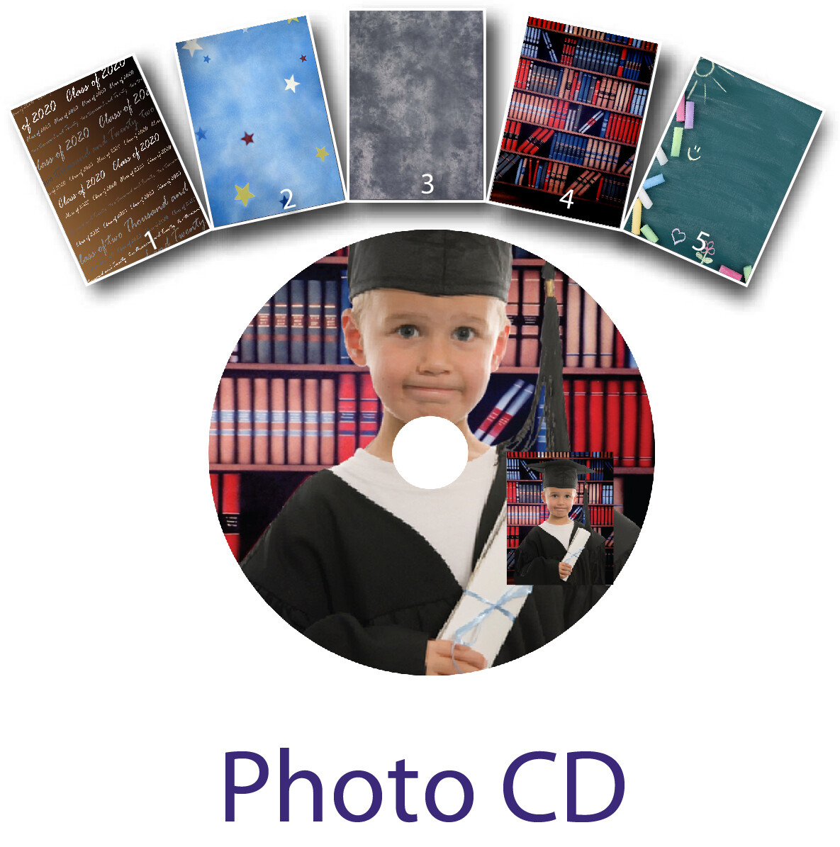 Photo CD Package Graduation
