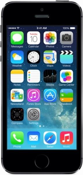 Apple iPhone 5s 16Gb (dark grey)