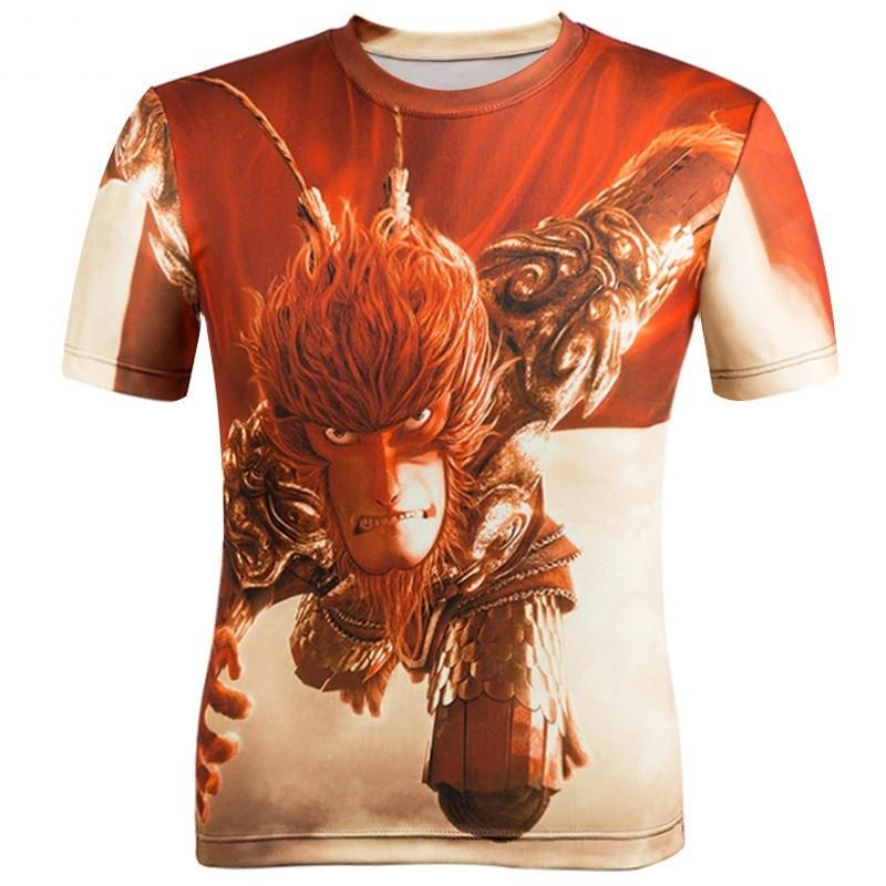 Men Short Sleeve eagle Printed Men Casual tshirt male Creative Designed Shirts For Men