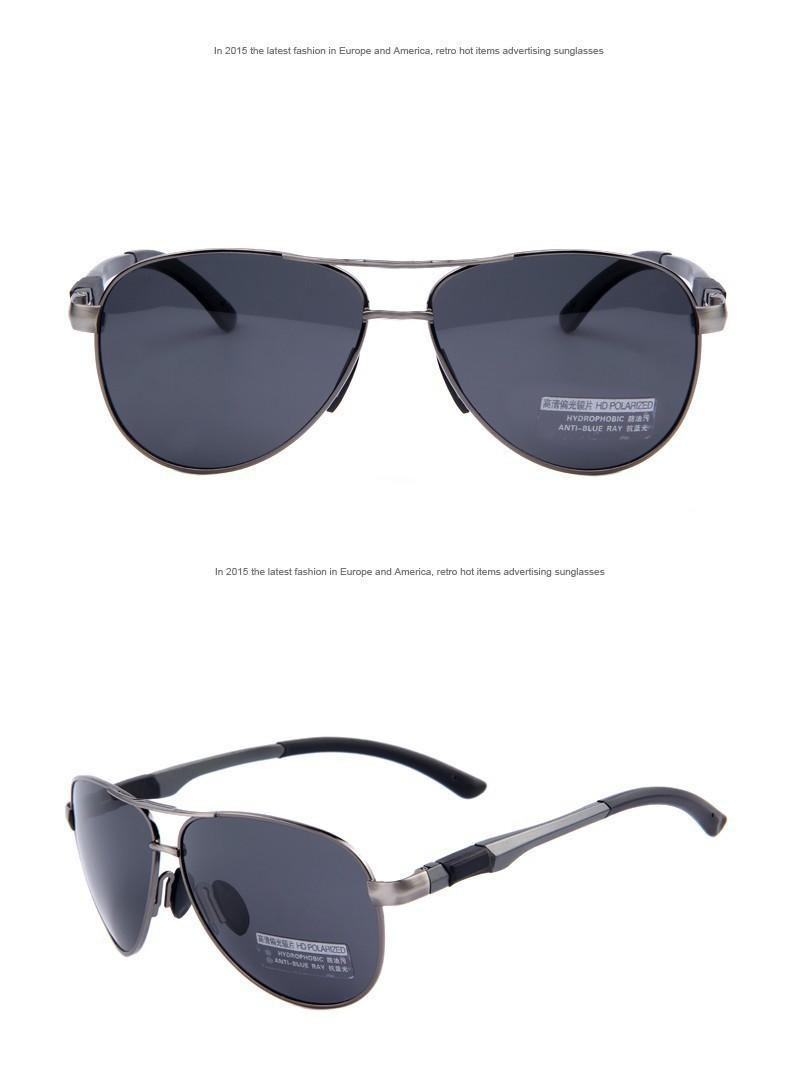 Sunglasses HD Polarized Glasses Men Brand Sport