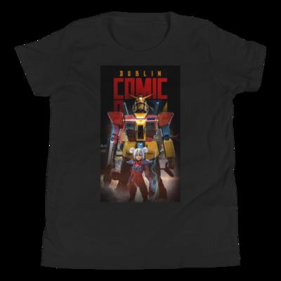 DCC Robot Logo - Youth Short Sleeve T-Shirt  (EU Stock)