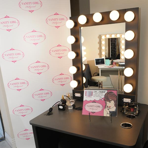 Estacion Profesional De Maquillaje Vanity Girl Hollywood