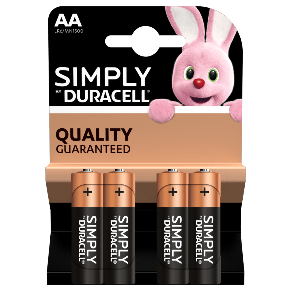 AA Duracell Simply