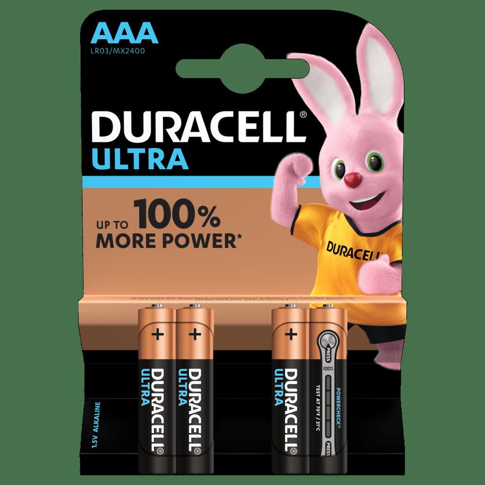 AAA Duracell Ultra