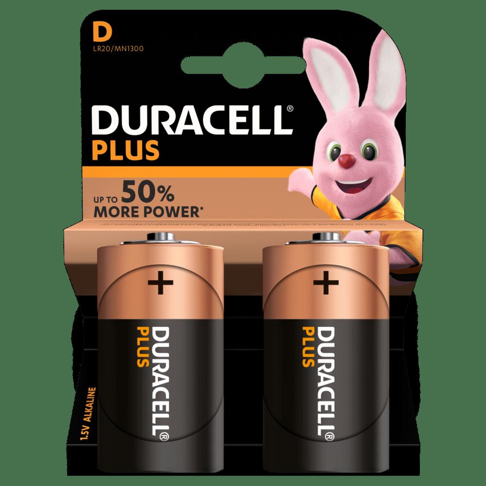 D Duracell Plus