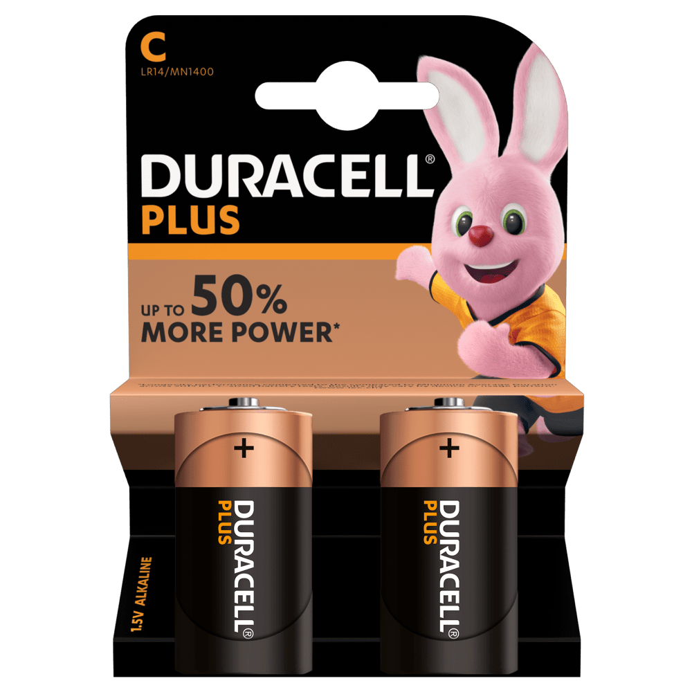C Duracell Plus