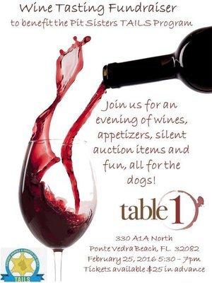 Table One Wine Tasting
