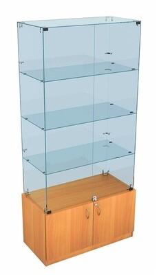 Витрина стеклянная ВС 90х45 см.