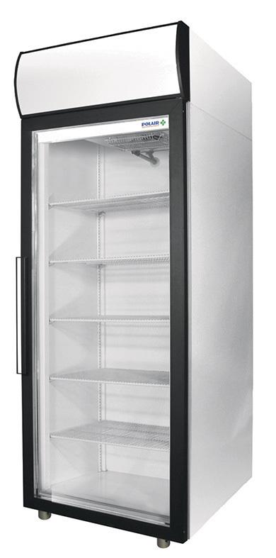 Шкаф холодильный фармацевтический Полаир  ШХФ 0.4ДС