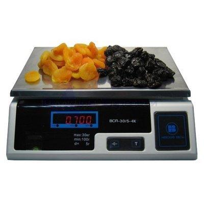 Весы порционные ВСП-30.2-4К с АКБ