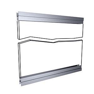 Держатель панели, зеркала, стекла (пара) RT 018