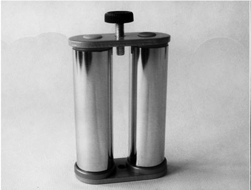 УС-13 Узел для соединения труб Ǿ25мм с пластиной 64х29х4 мм, с резьбой М6