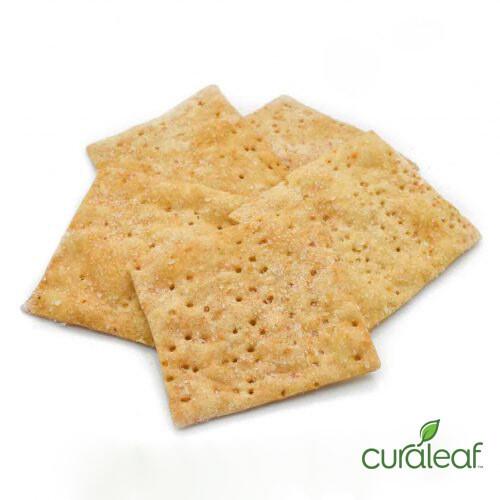 Sea Salt Wheat Crackers 6585 (10 Crackers x 8.31 mg THC)(CL)