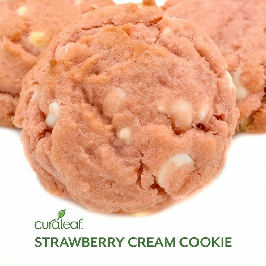 Strawberry Cream Cookies 7457 (3 Cookies x 29.2 mg THC)(CL)