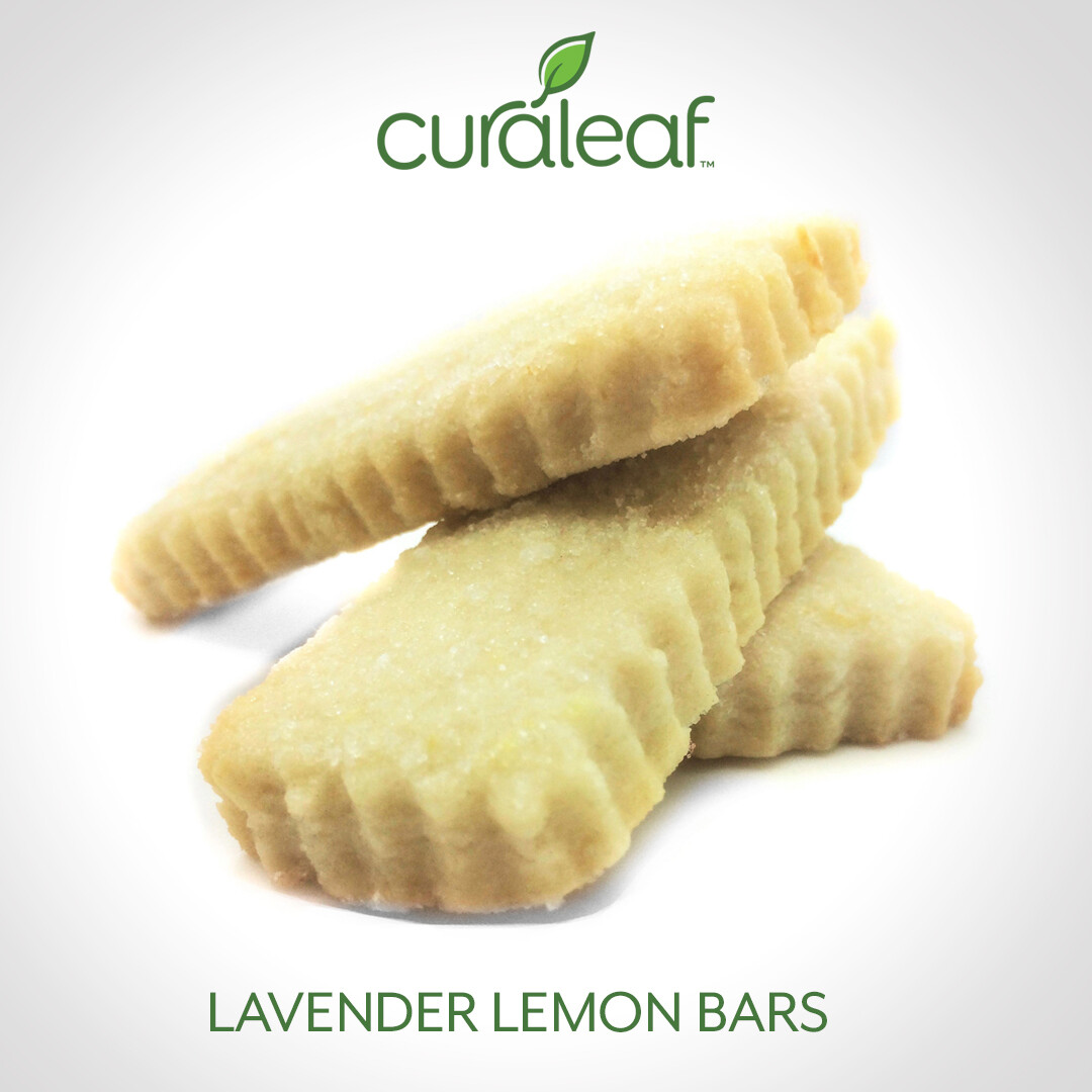 Lavender Lemon Bars 7970 (3 Cookies x 23 mg THC/26.6 mg CBD)(CL)