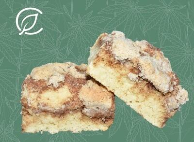 Coffee Cake Bars 8584 - Edible 2pk (Curaleaf)