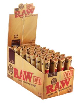 Raw Cones 1 1/4