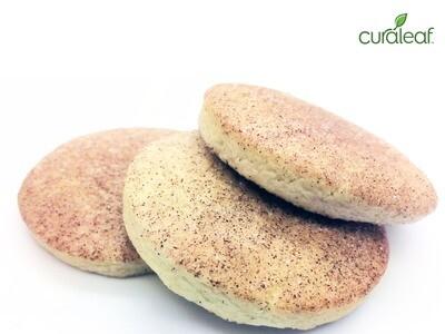 Cinnamon Sugar Cookies 8928 - Edible 3pk (Curaleaf)