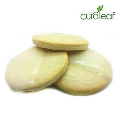 Iced Sugar Cookies 8927 - Edible 3pk (Curaleaf)