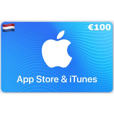 Apple iTunes Gift Card Netherlands €100