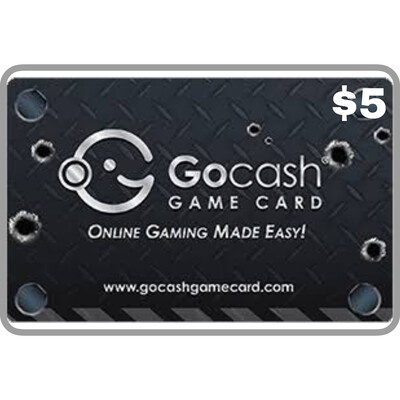 GoCash Game Card $5