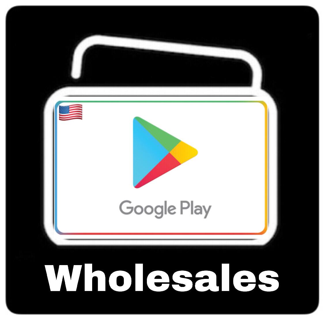 Wholesales Google Play