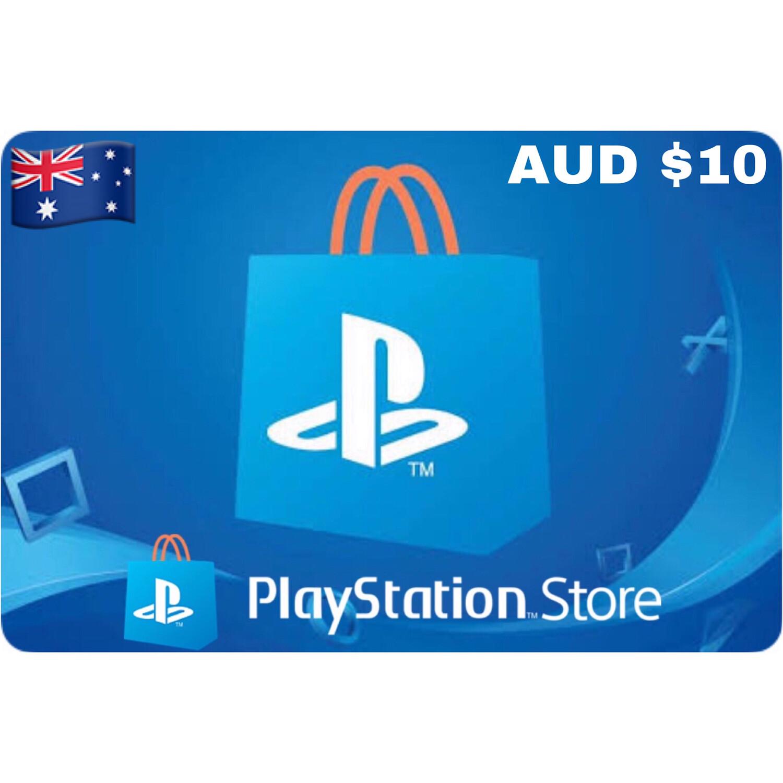 Playstation (PSN Card) Australia AUD $10