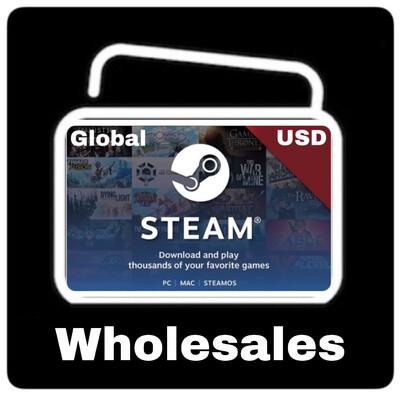 Wholesales Steam Wallet Code