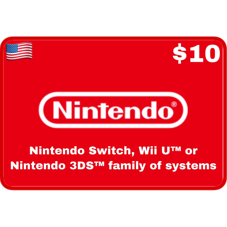 Nintendo eShop USA $10