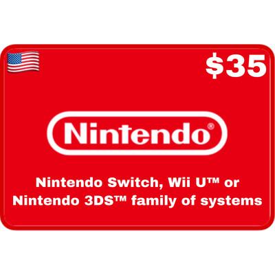 Nintendo eShop USA $35