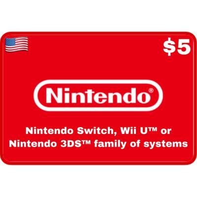 Nintendo eShop USA $5