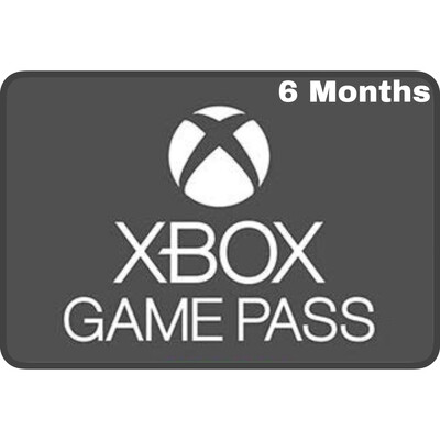 Xbox Game Pass 6 Months Membership