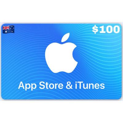 Apple iTunes Gift Card Australia $100