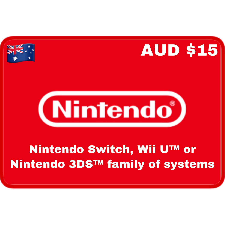 Nintendo eShop Australia $15