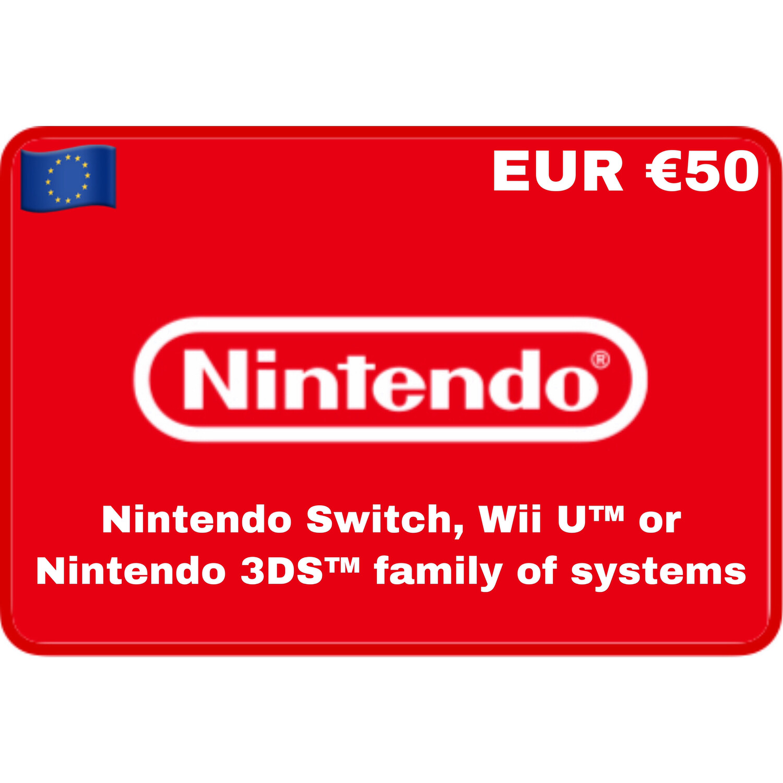 Nintendo eShop Europe €50