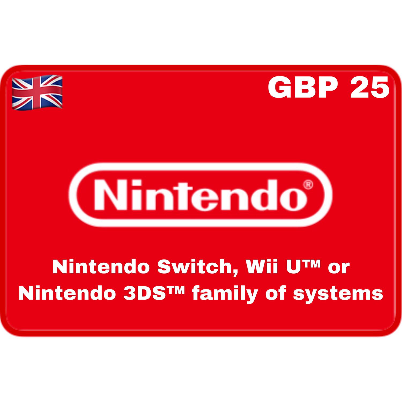 Nintendo eShop UK £25