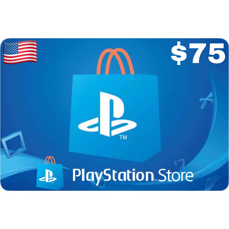 Playstation (PSN Card) USA $75