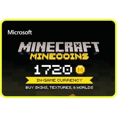 Minecraft Minecoins Pack 1720 Coins