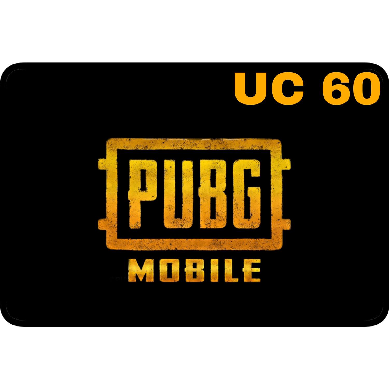 PUBG Mobile UC 60 Global Digital Code