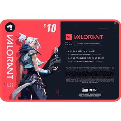 Valorant Gift Card US $10