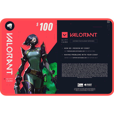 Valorant Gift Card US $100