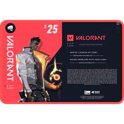 Valorant Gift Card US $25