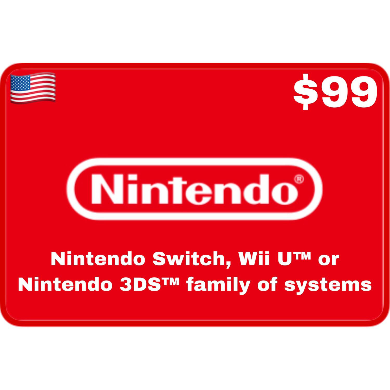 Nintendo eShop USA $99