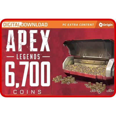 Apex Legends 6700 Apex Coins Origins for PC