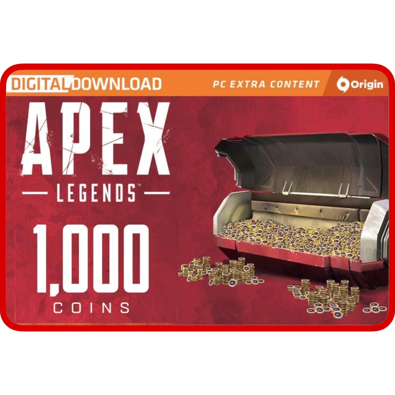 Apex Legends 1000 Apex Coins Origins for PC