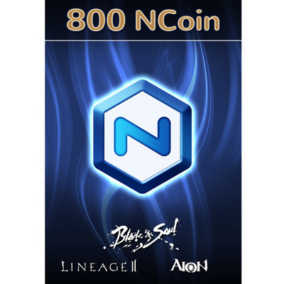NCSOFT NCoin 800 [Online Game Code]