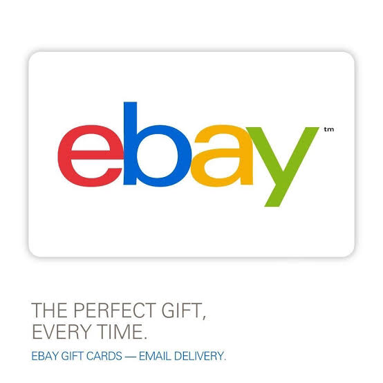 Ebay Gift Card US $10