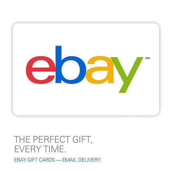 Ebay Gift Card US $50