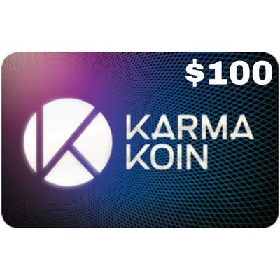 Karma Koin $100