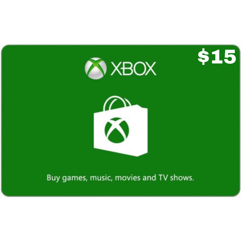 Xbox Gift Card USD $15